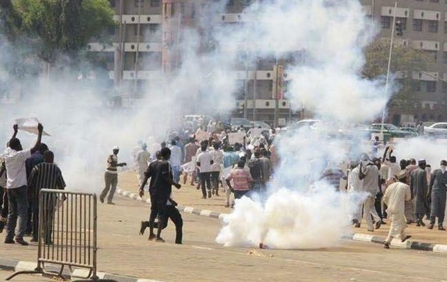 нигерия протесты