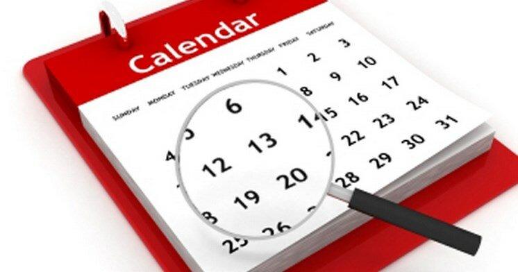 Выходные. Календарь