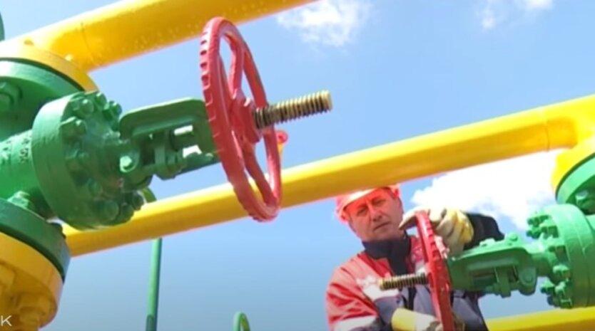 Транзит газа из России в Европу через Украину