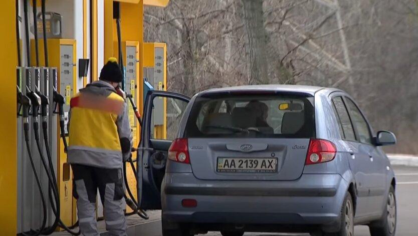 АЗС, бензин, дизельное топливо, Украина