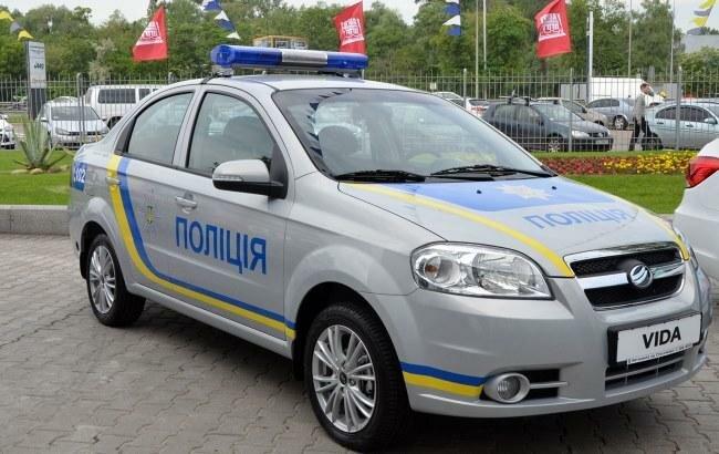 полицейское авто