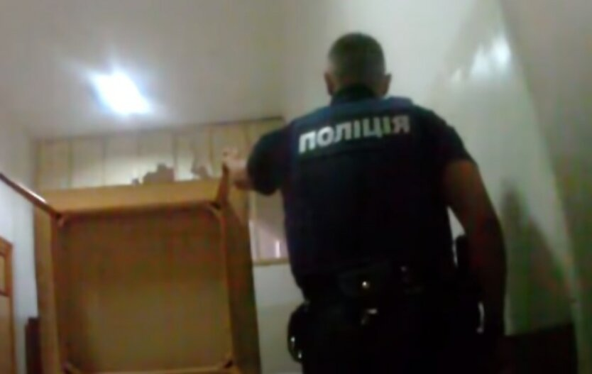 Убийство бездомных во Львове,Нападение на бездомных,Полиция Львова
