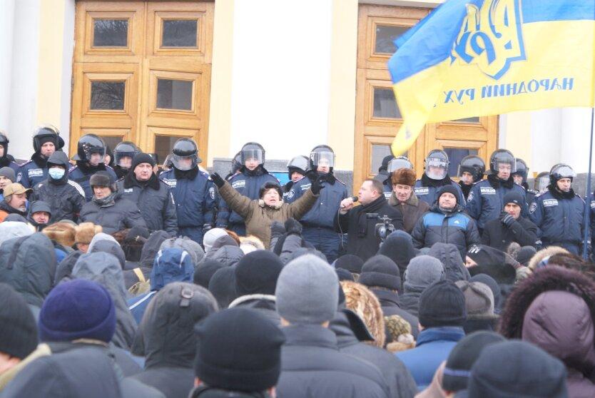 Майдан в Виннице