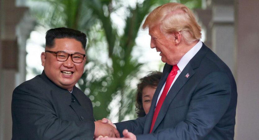Дональд Трамп Ким Чен Ын 2
