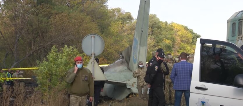 Катастрофа Ан-26, Чугуев, крушение самолета