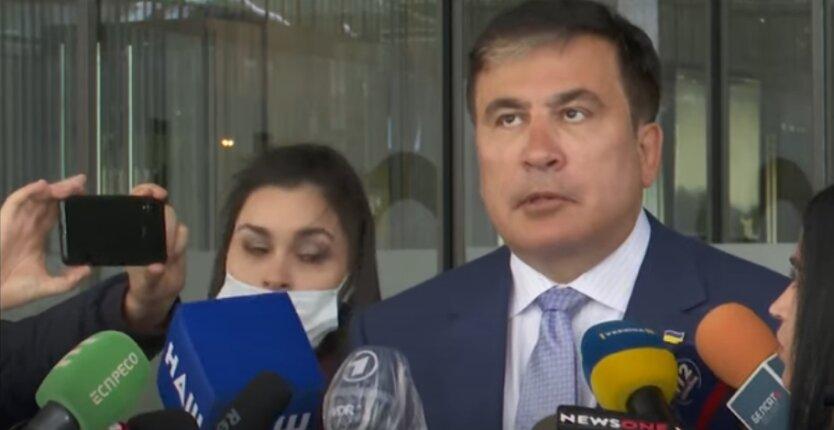 """Владимир Зеленский, Михеил Саакашвили, """"Квартал 95"""""""
