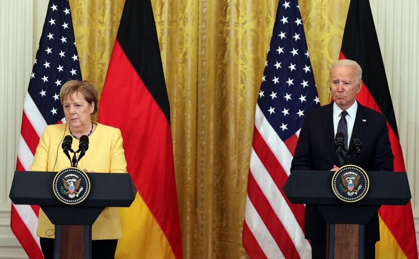 Меркель напомнила России о транзите газа через Украину после запуска Северного потока-2