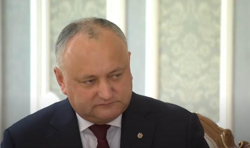 Молдова, компромат, Игорь Додон