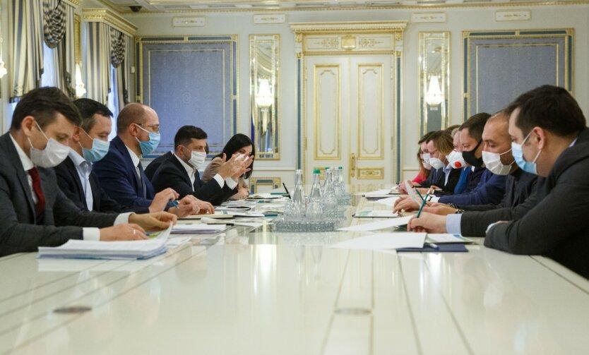 Владимир Зеленский, ОП, президент Украины, совещание
