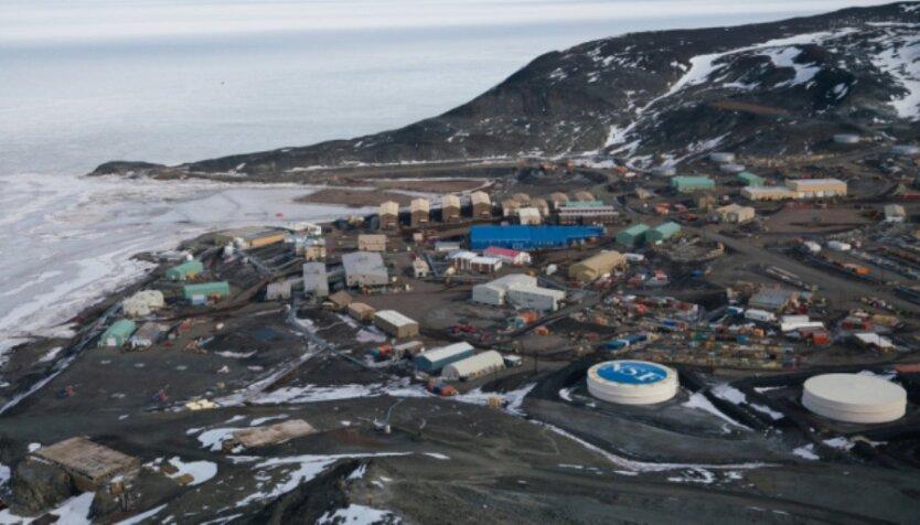 станция в Антарктиде