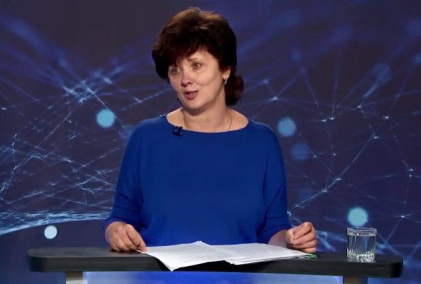 Начальник главного управления Пенсионного фонда Украины в Николаевской области Елена Сичугова