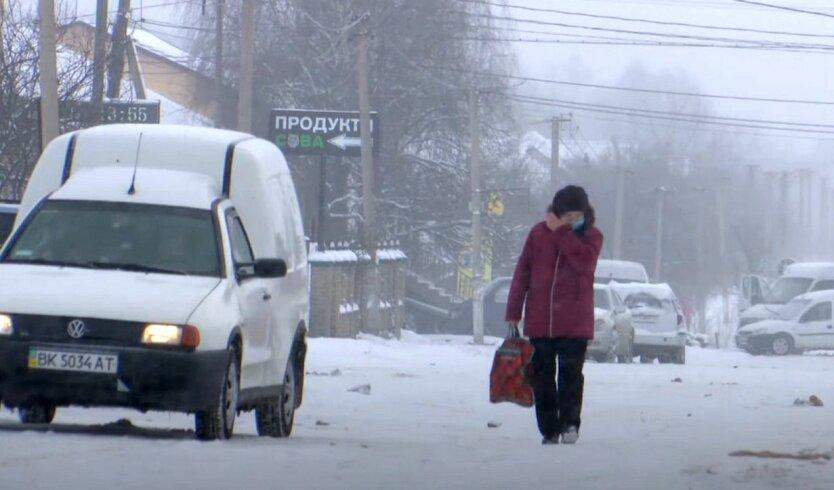Украинцев предупредили об «арктической» погоде на следующей неделе