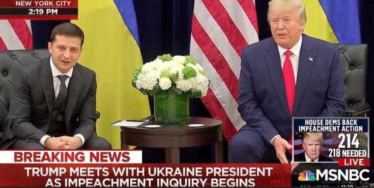 Трамп сказал Зеленскому, что Путин стремится к урегулированию ситуации на Донбассе