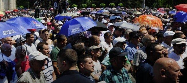 молдова протесты