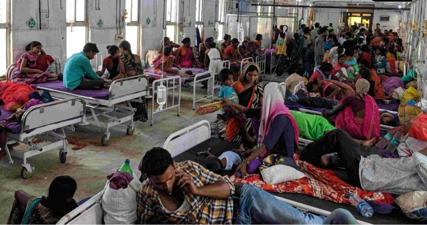Больница в Индии