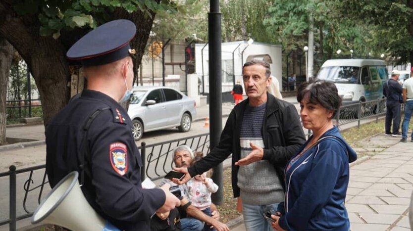 Массовые задержания в оккупированном Симферополе