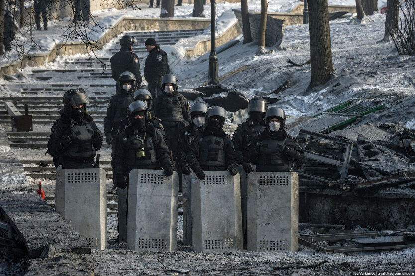 Столкновения на Грушевского14