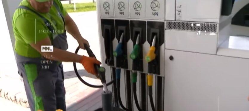 АЗС, бензин, цены