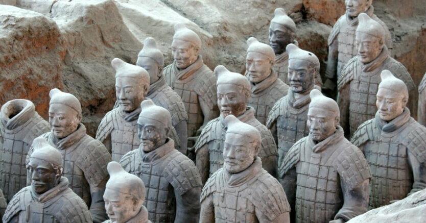 Китай, терракотовые воины Цинь Шихуанди
