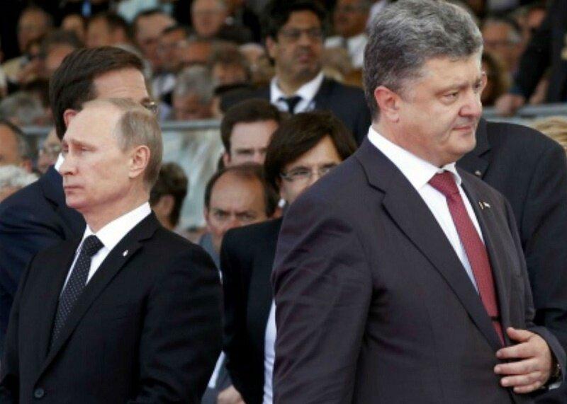 Петр Порошенко Владимир Путин