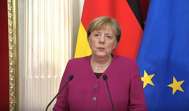 Меркель 11 января