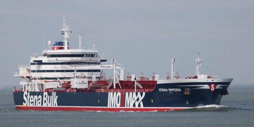 танкер иран