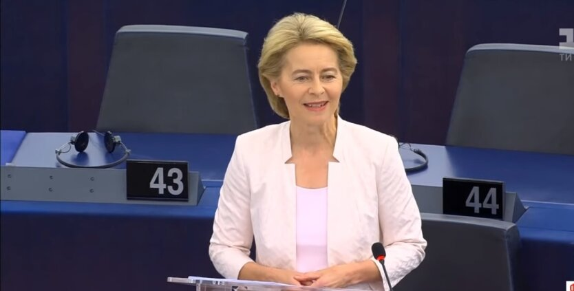 Урсула фон дер Ляйен, санкции, протесты в Беларуси