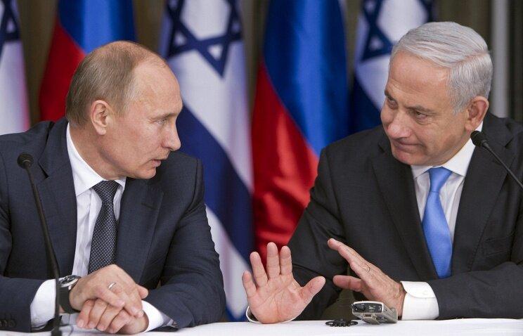 Нетаньяху_Путин