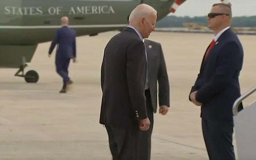 Джо Байден, президент США, скриншот