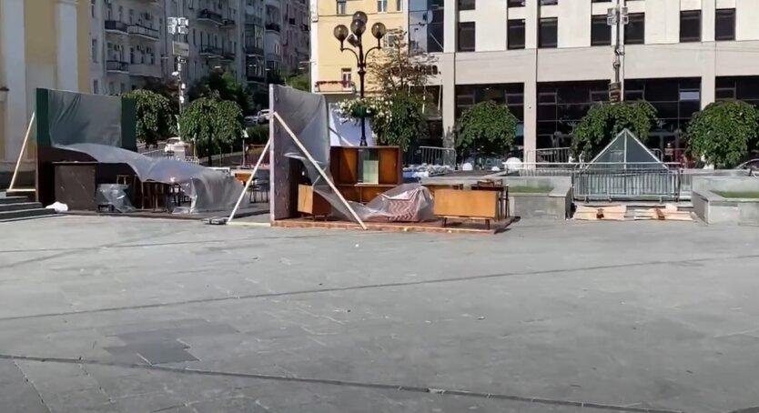 Инсталляции, Майдан, Киев