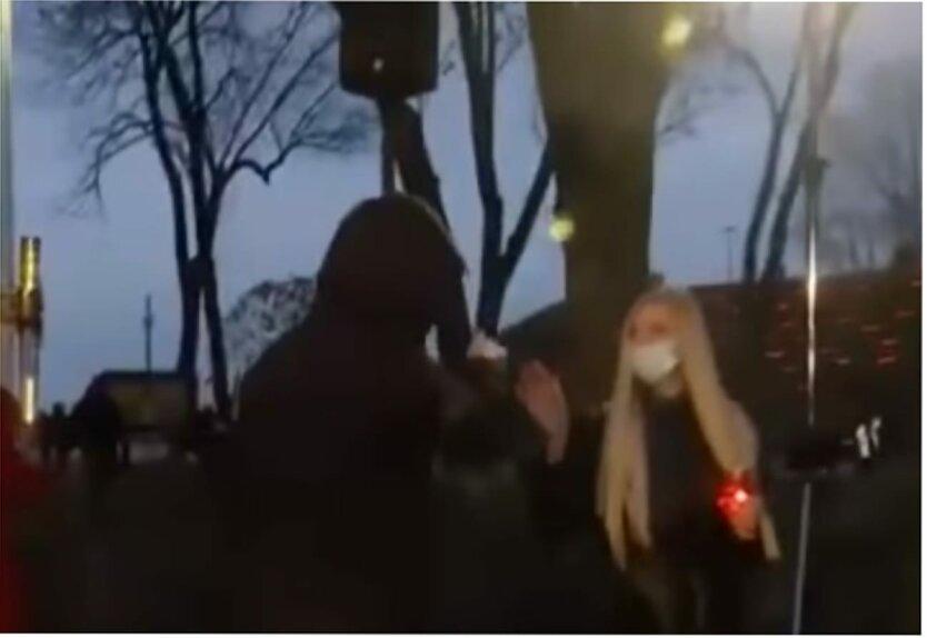 Нападение на журналистку, Антон Геращенко, МВД Украины