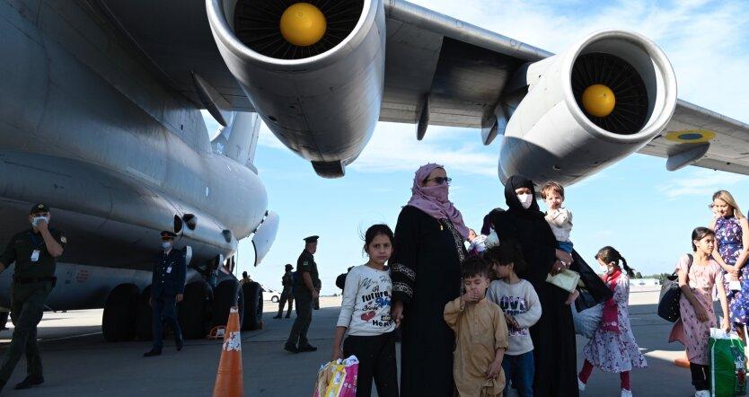 Эвакуация людей из Кабула