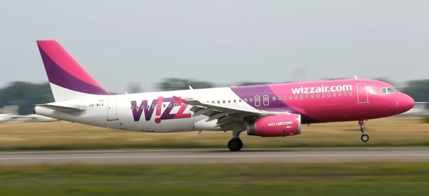 Wizzair, Киев, Будапешт, авиасообщение