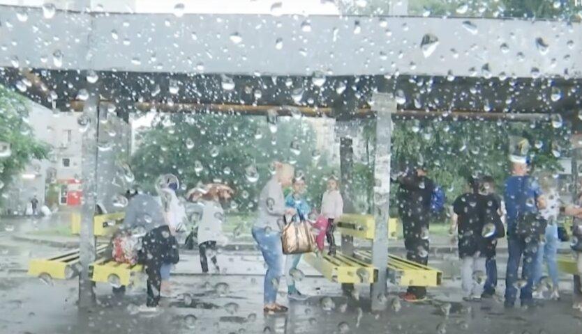 Грозовые дожди в украине, прогноз погоды