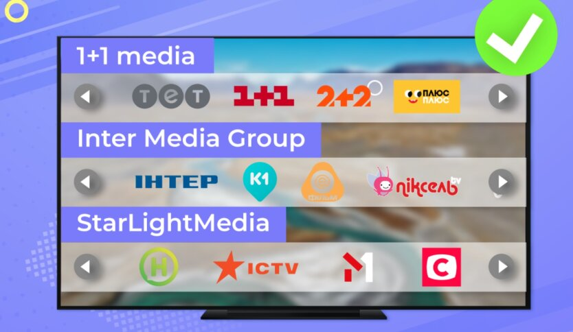 Отключение телеканалов в Ланет, 1+1, Стб, интер
