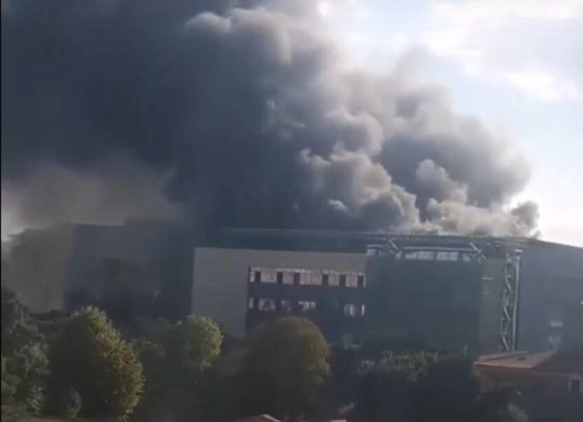 Пожар в Стамбуле
