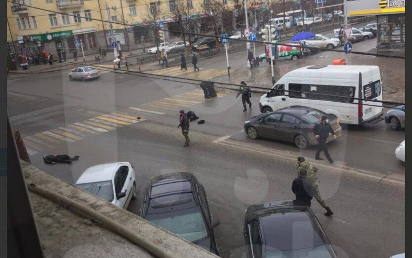 Стрельба в Грозном