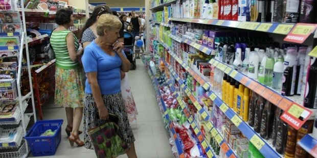 инфляция супермаркет продукты цены