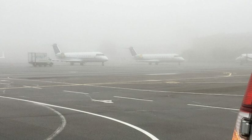 Аэропорт в тумане