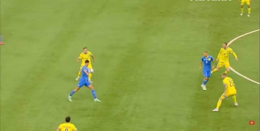 Игра Украина-Казахстан, ЧМ-2022, результат игры
