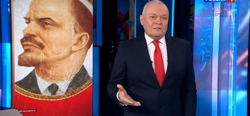 Дмитрий Киселев, пропагандистские телеканалы России, Латвия