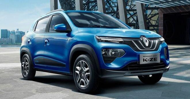 Renault показала электрический кроссовер City K-ZE дешевле $9 тысяч