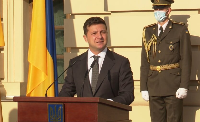 Зеленский пообщался с военными на Донбассе
