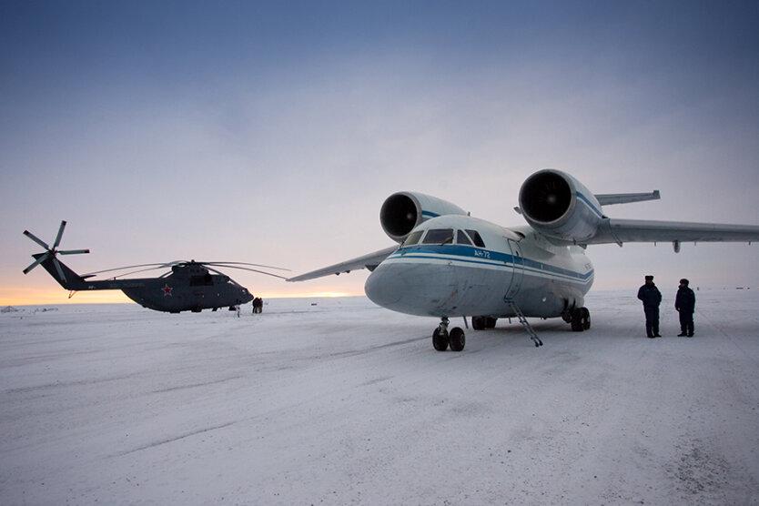 Арктика_военный аэродром РФ