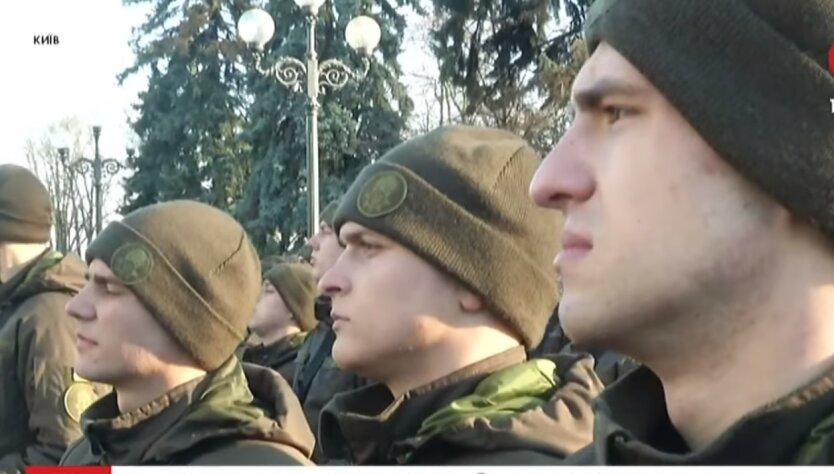 ВСУ, Черкассы, спали на улице