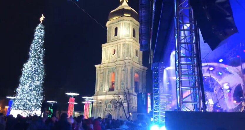 Новый год в Украине, выходные, 2020-2021 год