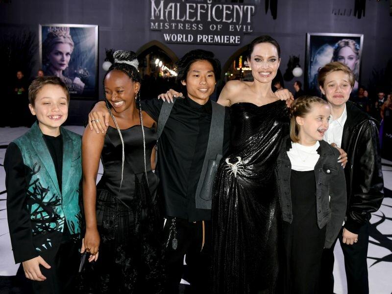 Анджелина Джоли, дети Анджелины Джоли,