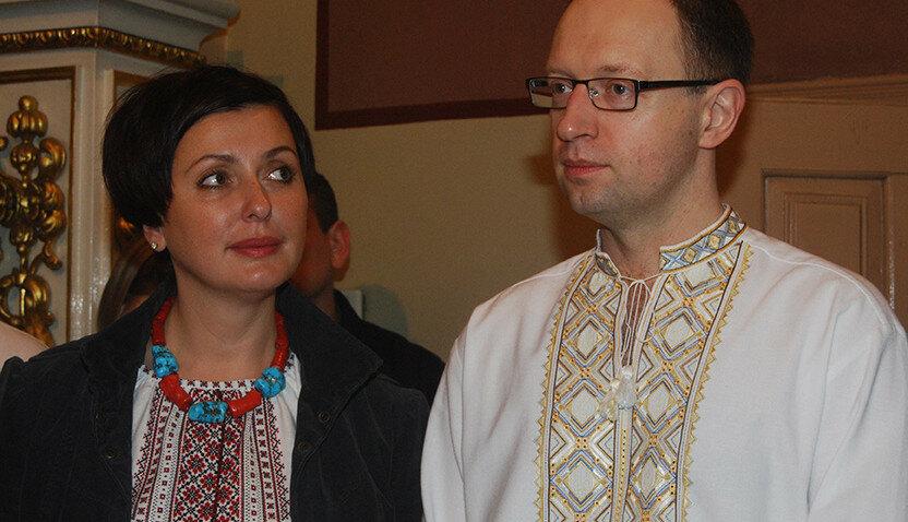 Терезия и Арсений Яценюк