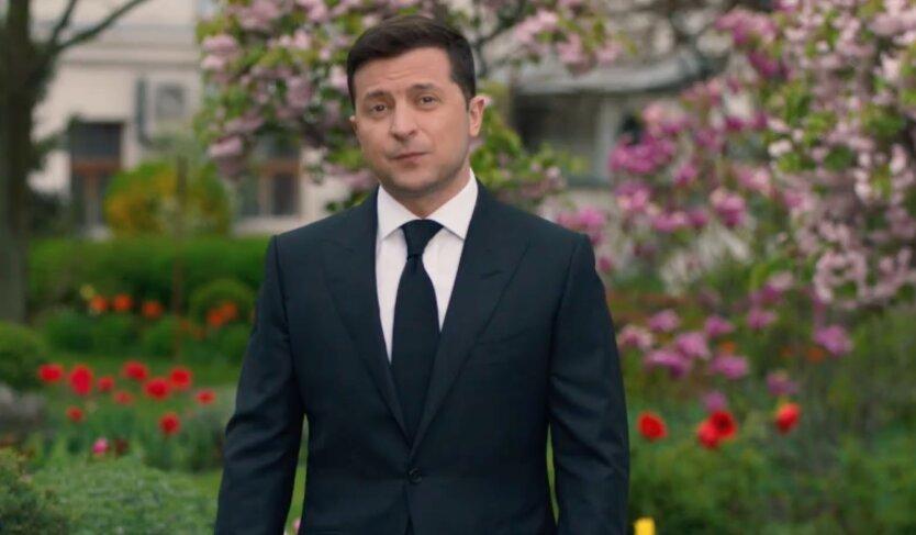 Зеленский записал обращение к украинцам