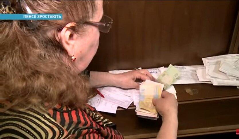 Пенсии в Украине, Укрпочта, банки